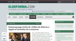 Hábil y valiente reportero denuncia que ElDeforma.com es un medio pocoserio